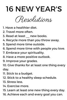 A New Year's Resolution (www.prepforaday.com)