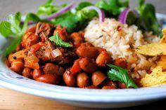 Slowcooked chili