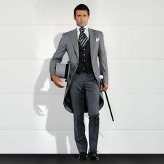 Traje Pantalon Homme 2016 por encargo del gris hombre delgado se adapta trajes 3 unids esmoquin novios trajes de largo de novia vestido de trajes en Trajes de Moda y Complementos Hombre en AliExpress.com | Alibaba Group