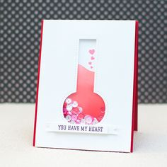Love Potion shaker card