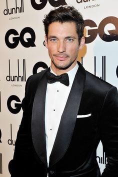 David Gandy in #dolcegabbana while attending the GQ Man of the Year 2012 ceremony