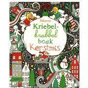 Kriebel Krabbel Boek Kerstmis | Fiona Watt
