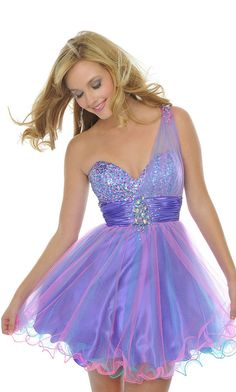 Amethyst Short Dresses | The Sweetest Grad Dress Purple » Short Purple Grad Dress