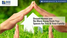 #Dream #Homes are no More Away from your spaces for you & your Family....