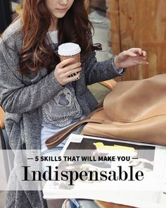 Career infographic & Advice 5 Skills That Will Make You Indispensable at Work. Image Description 5 Skills That Will Make You Indispensable at Career Success, Career Advice, Job Career, Career Development, Personal Development, Professional Development, Young Professional, Resume Tips, Dream Job