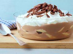 Milk Chocolate Banana Pudding