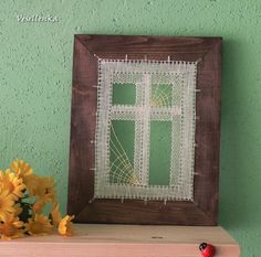 """Window"", bobin lace. Lenka Veselá"