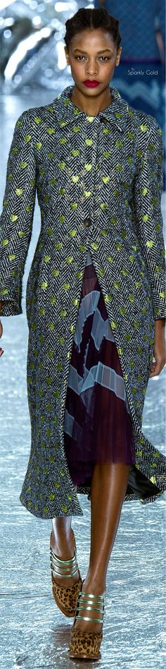 Mary Katrantzou Fall 2016  women fashion outfit clothing style apparel @roressclothes closet ideas