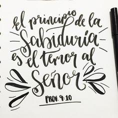 """105 Me gusta, 2 comentarios - Biblia Creativa (@bibliacreativa) en Instagram: """"¡Dios nos ayude a mantener siempre en nuestros corazones el temor reverente al Señor!…"""""""
