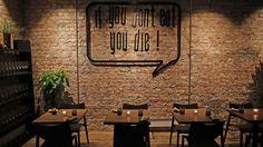 Restaurantanmeldelse av Kamai: Kult og syrlig Conference Room, Dining, Table, Oslo, Furniture, Restaurants, Home Decor, Food, Decoration Home