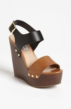Steve Madden 'Luucy' Wedge Sandal available at #Nordstrom