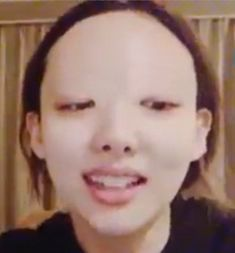 Got7 Funny, Funny Kpop Memes, Meme Faces, Funny Faces, Kpop Girl Groups, Kpop Girls, Disgusted Face, Reaction Face, Jihyo Twice