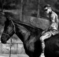 If you own any of the photos and want them removed, or a credit added give me a shout. Black Dodge Charger, Stephen James Model, Hot Guys Tattoos, Man On Horse, Beautiful Disaster, Models, Tom Hardy, Fine Men, First Photo