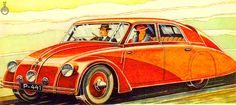 "Dark Roasted Blend: ""Tatra"" Car & Other Aerodynamic Marvels, Part 2"