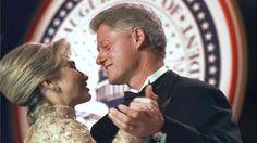Bill and Hillary Cli