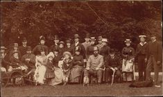 A photograph of Tsar Alexander III with European monarchs and members of the Imperial family Grand Prince, Christian Ix, Maria Feodorovna, House Of Romanov, Princess Alexandra, Danish Royals, King George, British Royals, Emperor