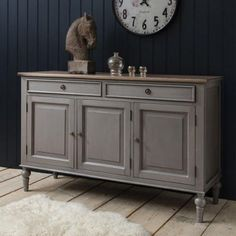 Gallery Direct Maison Sideboard Dark Grey - Gallery Direct from House of Isabella UK