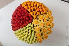 Кулинария Карвинг Букеты из фруктов Овощи фрукты ягоды фото 1 Мастер Ермилова Аня