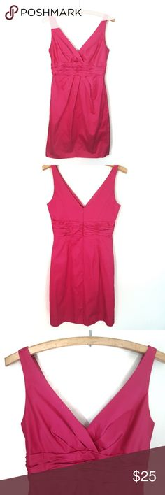 5cb79924ee72 David s Bridal sleeveless v-neck dress in pink David s Bridal sleeveless v- neck dress