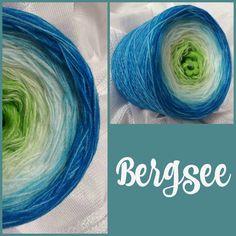Bergsee: Hochbauschacryl 6 Farben: apfelgrün lindgrün natur eisblau aqua türkis
