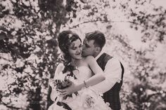 Married Couple in forest embracing by Ruslan117