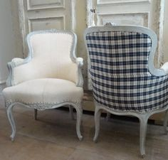 A Pair of French Fauteuils in Antique Seating from Appley Hoare Antiques http://www.appleyhoare.com