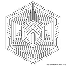 """""""A.I."""" Crop formation inspired design. Geometrycoloringpages.com"""