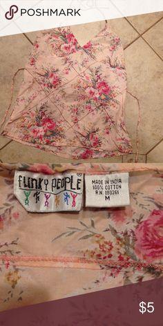 Vintage look halter top size med by funky people Vintage look halter top size med by funky people funky people Tops Tank Tops