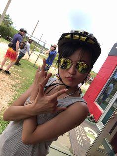 小島瑠璃子認証済みアカウント @ruriko_kojima  4月26日  バギーに乗る前の、何故かウィッシュしてるこじま