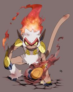 Infernape #392 (See, I love Infernape. Even though I'm a Grass-starters-for-lyfe-yo type of trainer.)