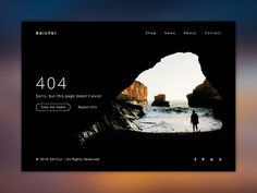 404 Error Page - Daily UI designed by Erilisdesign. Connect with them on Dribbble; Error Page, Daily Ui, 404 Page, Take Me Home, Emotional Intelligence, Daily Inspiration, Web Design, Shots, Archive