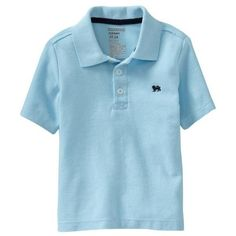 Old Navy Short Sleeve Pique Polo Shirt For Baby (9.56 AUD) ❤ liked on Polyvore featuring baby, baby boy, baby stuff, boys and kids