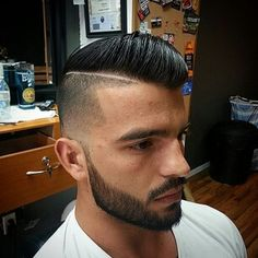 Facial Hair Fade hard part ❤️ Fcsalon.com
