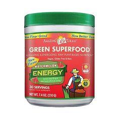 Amazing Grass (Green) - Watermelon Energy 210 g