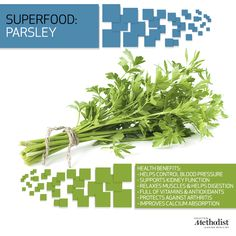 Parsley is the world's most popular herb. Learn why this #superfood makes appearances in so many dishes.