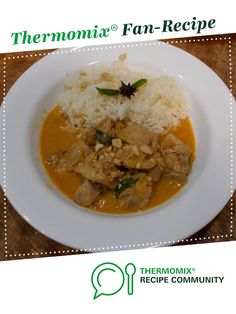 Recipe Penang Chicken by PudseyCheff, learn to make this recipe easily in your kitchen machine and discover other Thermomix recipes in Main dishes - meat. Recipes Dinner, Dinner Ideas, Penang, Kaffir Lime, Cauliflower Cheese, Dinners, Meals, Curry Paste, Gluten Free Chicken