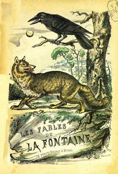 illustrations couleur fables de la Fontaine par Vimar - illustrations couleur fables de la Fontaine par Vimar - fables de la fontaine - Gravures, illustrations, dessins, images