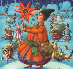 Ukrainian artist and illustrator Kost Lavro / Ukrainian Fairy Tales