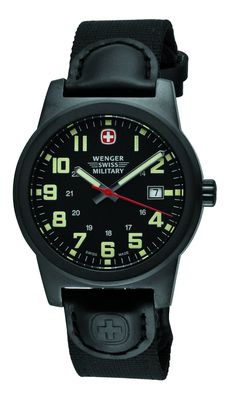 http://ebuywatchesonline.info/wenger-swiss-military-mens-72915-classic-field-black-dial-canvas-leather-military-watch-review/ Wenger Swiss Military Men's 72915 Classic Field Black Dial Canvas Leather Military Watch