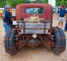 Rat rod. Those rear fenders are awesome