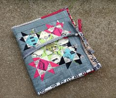 Modern travel sewing kit by Blossom Heart Quilts