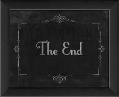 Silent Movie The End
