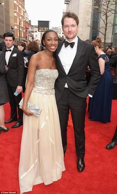 Co-stars: Beverley Knight and Killian Donnelly, who appear in Memphis, joined forces at the event