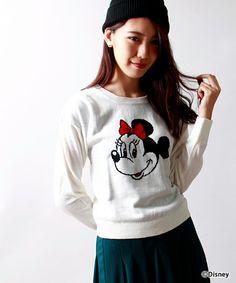 Disney(ディズニー)の「∴WEGO/Minnie Mouse/ニット(ニット・セーター)」 - WEAR