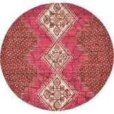 Found it at Wayfair - Aria Magenta Area Rug