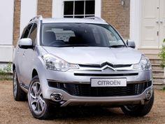 Citroën C-Crosser UK-spec '2007–12
