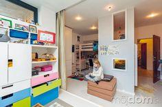 Detskú izbu, ktorú obývajú