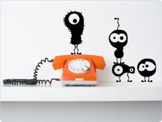 http://de.dawanda.com/product/41475894-kleine-wandtattoo-monster-11361