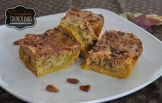 Pumpkin Crunch Bars - An easy Thanksgiving dessert (Apple Butter House Smells)