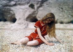 Lieutenant Colonel Mervyn O'Gorman, a distinguised Aeronautical engineer, took these autochromes of his daughter Christina at and near Lulworth Cove in Dorset, in 1913.